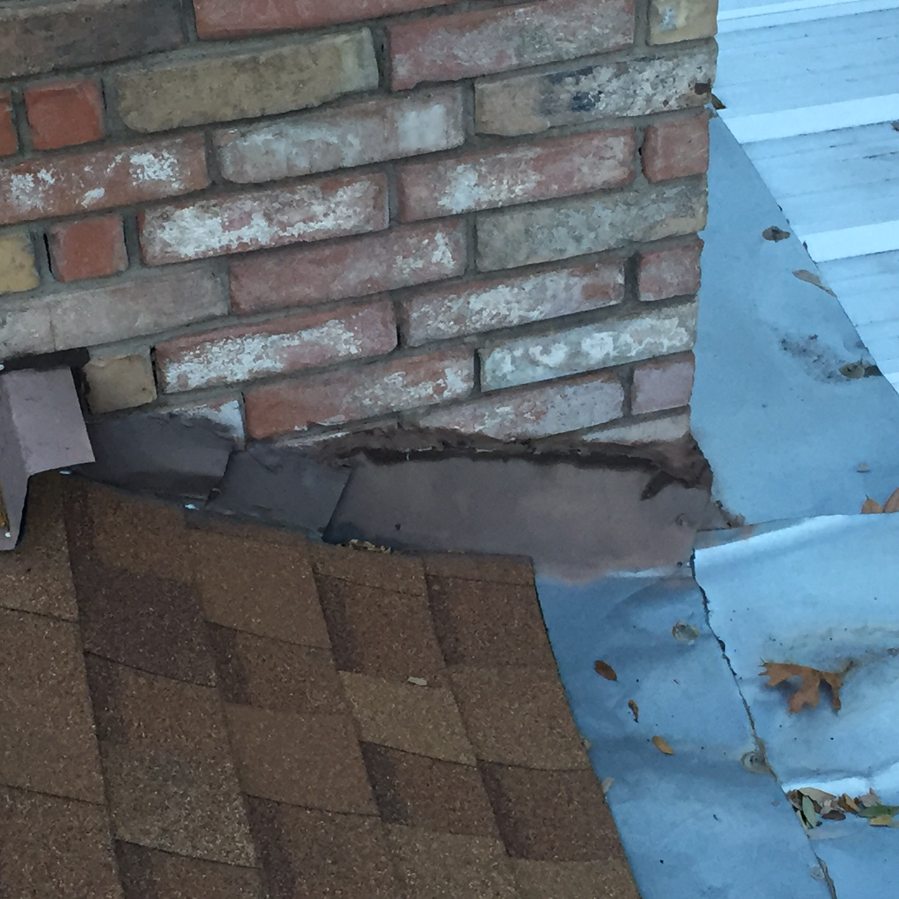 damage on a roof in decatur tx
